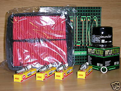 GSF600 Bandit 95-99 Service Kit  GSF 600 Air Filter Oil Filter Spark Plugs
