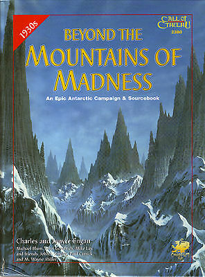 Beyond the Mountains of Madness Call of Cthulhu RPG Book BRAND NEW (see details)