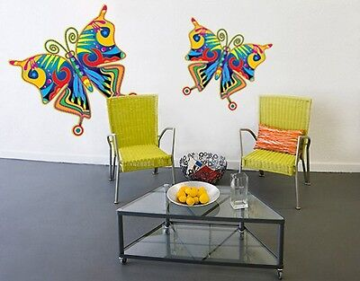 Wall Decal no.SF125 Colorful Butterfly Set