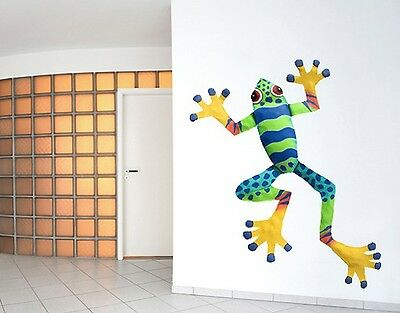 Wall Decal no.SF509 Coloured Frog