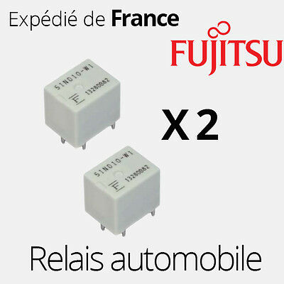 2 PIECES relais 51ND10-N, 51ND10-W1, 51ND10-WF, 51ND10W1, 51ND10 - RL02