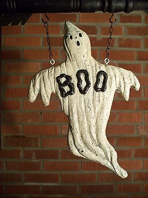"""BOO GHOST"" Replacement Sign - Resin Sign for Country Arrow Holders"