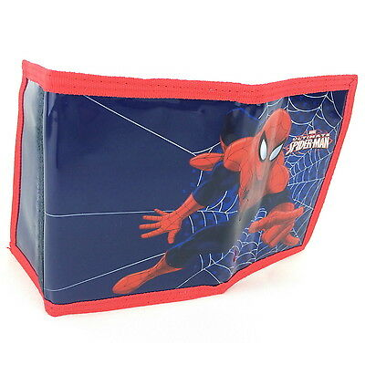 NEW OFFICIAL Ultimate Spider-Man Marvel Boys / Kids Tri-Fold Coin Wallet