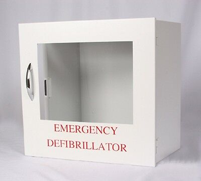 DSC-200 AED Wall Cabinet For ANY Size  AED! - New With Warranty