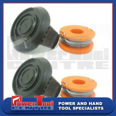 Garden Power Tools & Equipment Sale Spool Cover Cap & Line For Worx WG151 WG150 WG155 Grass Strimmer Trimmer R1 Strimmer Parts & Accessories