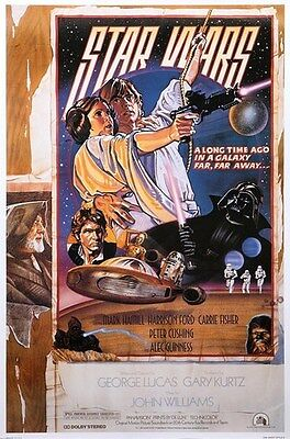 Star Wars R-92 15Th Anniversary Mint Movie Poster Style D Numbered Fan Club Ed.