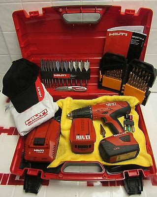 Hilti Sfh 18-A Drill Set With Free Extras, Mint Condition,original,fast Shipping