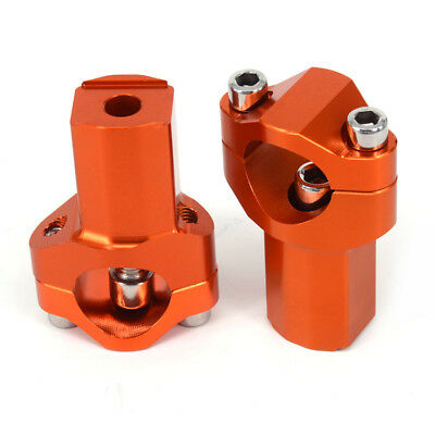 21MM Higher HandleBar Risers Bar Mount For KTM 125-530 SX SXF EXC EXCF XCF XC