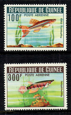 (Ref-7862) Guinea 1964 Guinea Fishes - Airmail Issue SG.424/425  Mint (MNH)