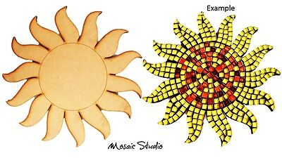 Sun Flower- Wooden Cut-out - 350x350mm