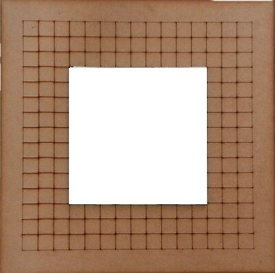 Mirror Grid Base MDF - 395x395mm