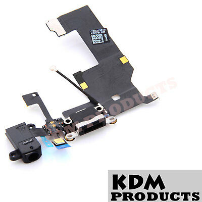 iPhone 5 5c 5s Charging Port Dock Connector Flex Mic Audio Jack charge port