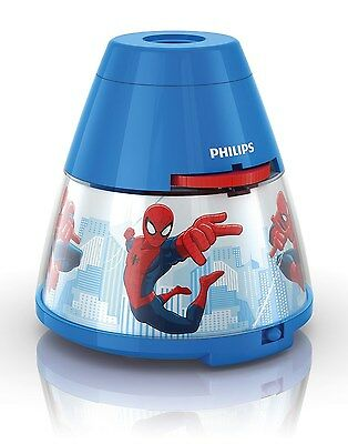 Philips Marvel Spider-Man Children's Night Light and Projector - 1 x 0.1 W In...
