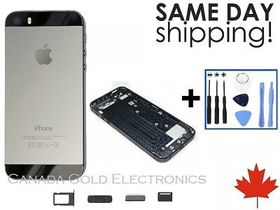 iPhone 5s Space Grey Replacement Housing Back Battery Door Cover Frame Assembly