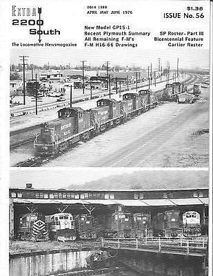 EXTRA 2200 SOUTH Magazine - Apr-Jun 1976- Issue 56 - SP Roster, Plymouth Summary