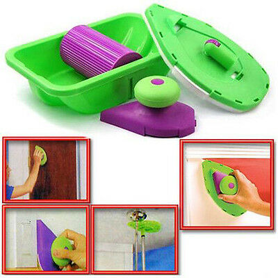 DIY PAINT Roller PERFECT SPEED HOME PAINTING SYSTEM JUST POINT 'N' & PAINT New