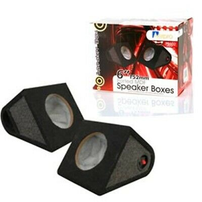 "6"" 152mm ported speaker boxes (PB602)"