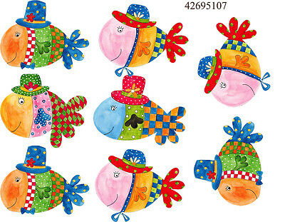 Ceramic Waterslide Decals Easter Fish 42695107 FOOD SAFE LEAD FREE