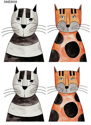 Ceramic Waterslide Decals Alley Cat 54425410  FOOD SAFE LEAD FREE