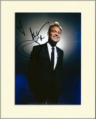 JASON DONOVAN PP 8x10 MOUNTED SIGNED AUTOGRAPH PHOTO NEIGHBOURS