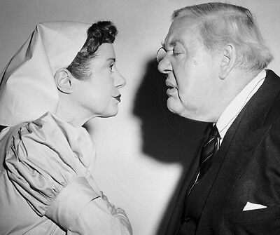 Elsa Lanchester & Charles Laughton photo - B2102 - Witness for the Prosecution