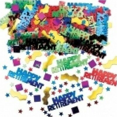 Rocking Retirement Multi Metallic Mix  Table Confetti - 14g Bag - Party