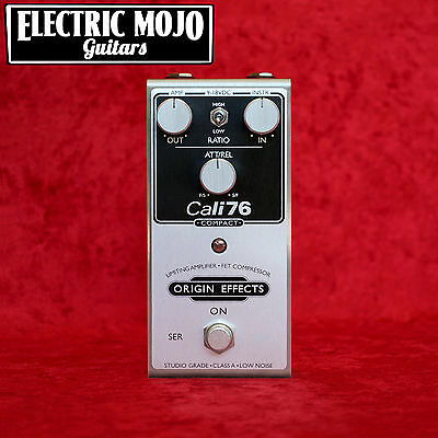 Origin Effects Cali76 Compact Compressor Limiting Amplifier Pedal