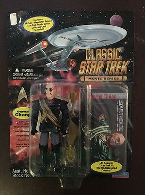 Classic Star Trek Movie Series General Chang Action Figure BRAND NEW
