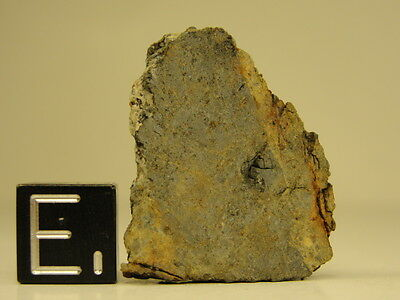 NWA 7786 Official Meteorite LL6-W1 - G343-0004 - 5.42g w/COA - Large Part Slice