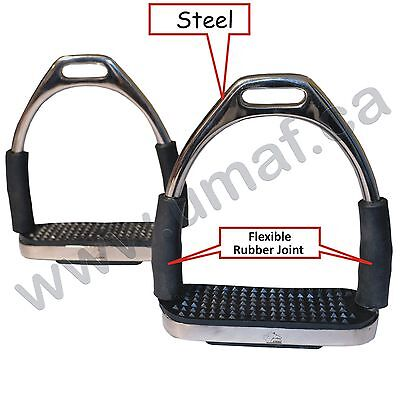 Stirrups, Steel, Flexible, Durable, 100% Guaranteed Product