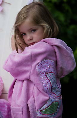 New!gorgeous Pink Fairy Towelling Wrap ,luxury Quality