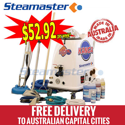 Carpet SteamTile Cleaning Machine Equipment Extractor Kanga 1200 Auto Fill/Empty
