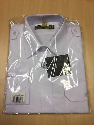 BRAND NEW With Tags White Long Sleeve Pilot Shirt