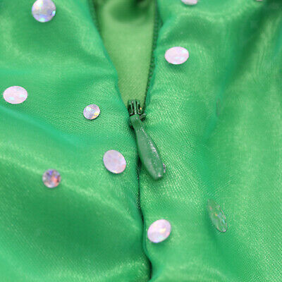 "Green Dress Gown Party Outfit for 18"" AG American Girl Our Generation Doll"