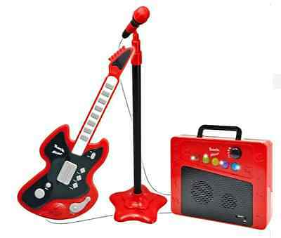 NEW Chad Valley Guitar Mic and Amp Children's Music Toys Kids Musical Toy