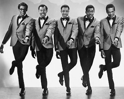The Temptations Motown Music Photo Promo Print Picture A4