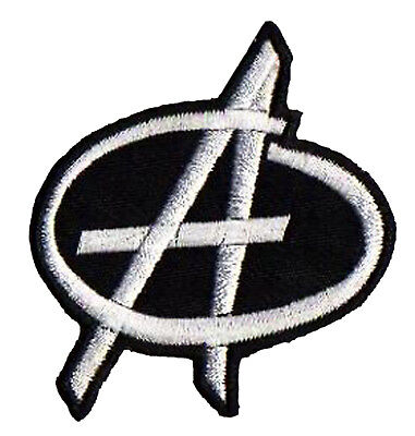 Ecusson brodé badge patche Anarchie Anarchy thermocollant patch