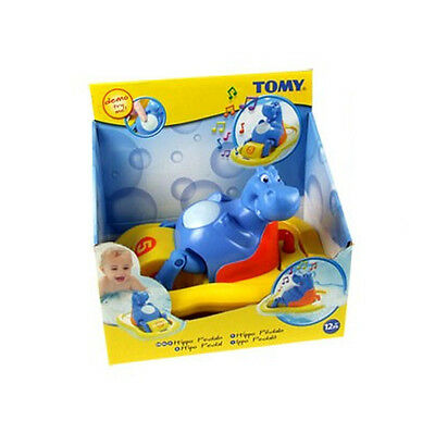 Tomy 2161 Childrens Bath Time Toy Hippo Pedalo Singing Bubble Machine Float New