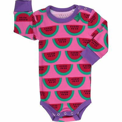 Green Cotton Baby Sommer Body Unterwäsche Watermelon 68 74 80 86 92 98
