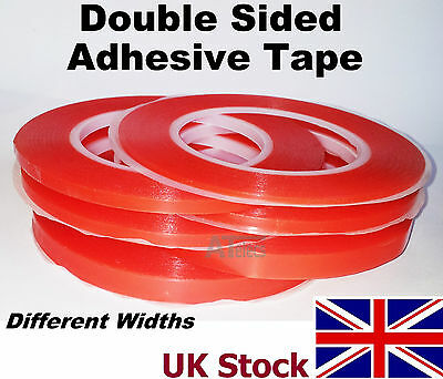 Double Sided Adhesive Tape, High Strength Acrylic Gel, Red, Phone Repairs