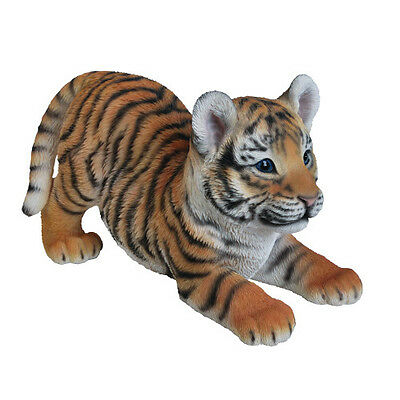 Playful Tiger Cub Garden Ornament by Vivid Arts XRL-PTIG-D