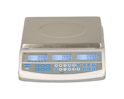 30 x 0.01 LB BRECKNELL PC-30 NTEP LEGAL PRICE COMPUTING SCALE
