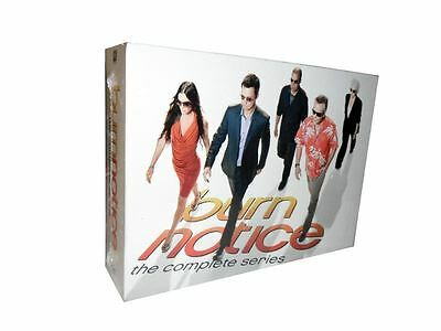 Burn Notice The Complete Series Seasons   DVD   29-Disc Box Set    NEW