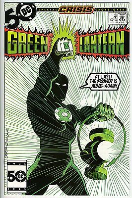 GREEN LANTERN #195 - Guy Gardner becomes Green Lantern - Crisis x-over