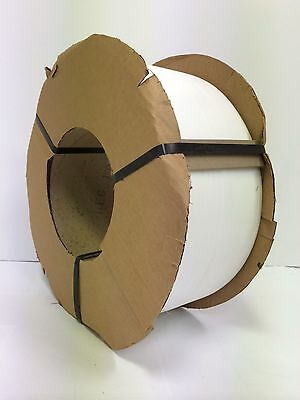"Poly Strapping 1/2"" x 0.26 8,200 Ft 9 x 8 Machine  Grade"