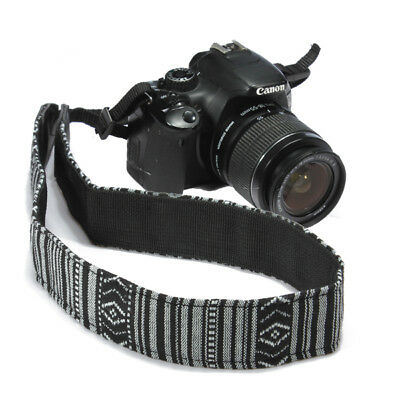Vintage Camera Shoulder Strap Neck Belt for Canon Nikon Panasonic SLR DSLR #1