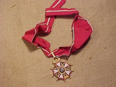 Original Vintage Us Legion Of Merit Medal - Commander