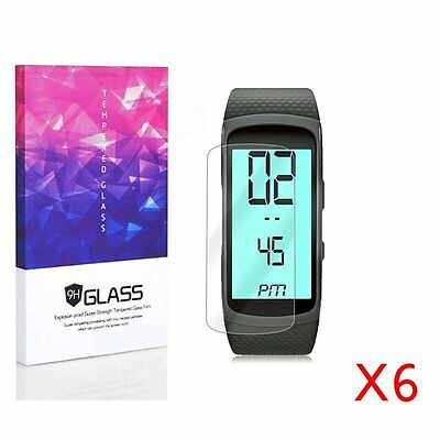 Samsung Gear Fit 2 Screen Protector Clear HD Puncture Resistance Film (6 Packs)