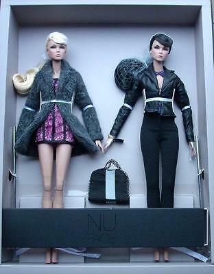"""12.5"""" FR~Never Ordinary Lilith and Eden Dressed Duo-Doll Gift Set~Nu Face~NRFB"""
