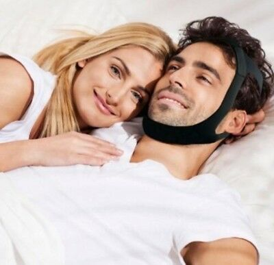 Anti Snoring Chin Strap Pro Jaw Device Stop Snore Solution Helps Sleep Apnea TMJ